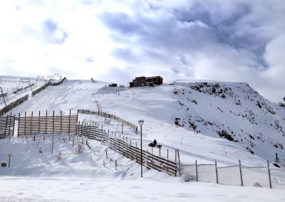 Centros de Ski _ El Embudo Ski lift Farellones