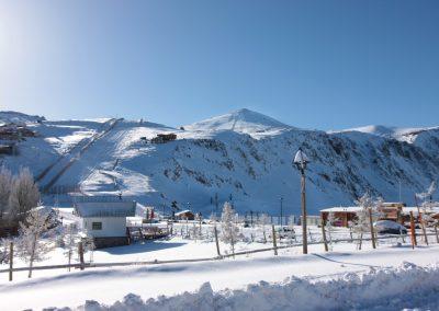 Centros de Ski _ Estacionamiento Farellones 01