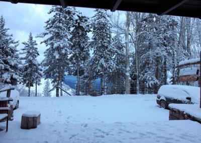 FRENTE Hotel con nieve