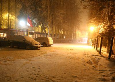 NIEVE Parking hotel Nieve Nocturno