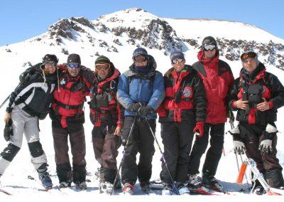 Skiers La Parva 01