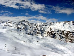 Valle Nevado maps